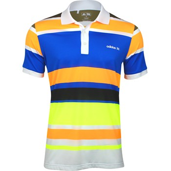 Adidas ClimaLite FP Engineered Stripe Shirt Polo Short Sleeve Apparel