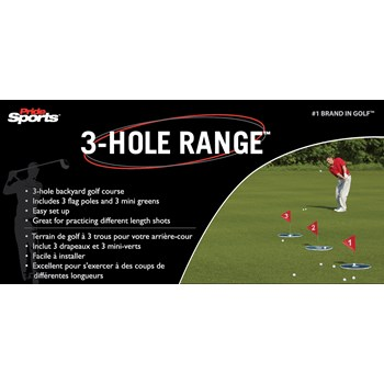 Pride 3-Hole Range Swing Trainers Analyzers Golf Bag