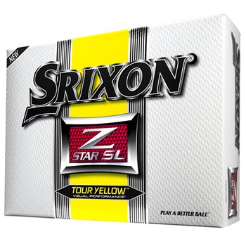 Srixon Z-Star SL Yellow Golf Ball Balls