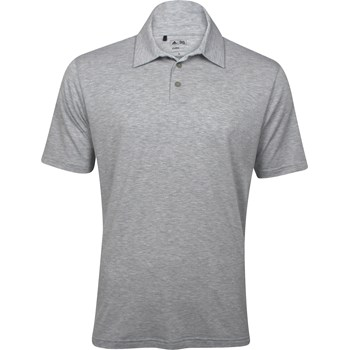 Adidas ClimaLite Heathered Solid Shirt Polo Short Sleeve Apparel