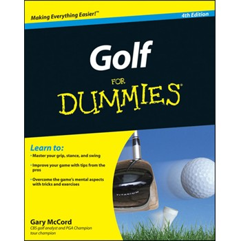 Booklegger Golf for Dummies 4th Edition Books