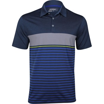 Nike Dri-Fit Bold Heather Stripe Shirt Polo Short Sleeve Apparel