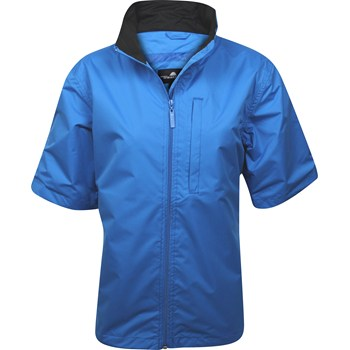 Weather Company Microfiber Short Sleeved Rainwear Rain Jacket Apparel