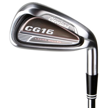 Cleveland CG16 Satin Chrome Iron Set Preowned Golf Club
