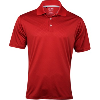 Adidas ClimaCool Diagonal Textured Shirt Polo Short Sleeve Apparel