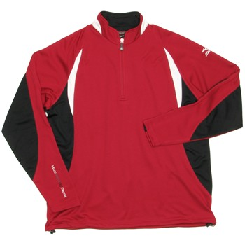 Mizuno WarmaLite 1/4 Zip Outerwear Pullover Apparel