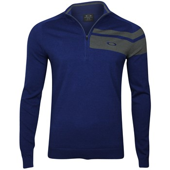 Oakley Off Center 1/4 Zip Sweater Outerwear Pullover Apparel