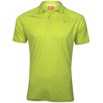 Puma Golf Raglan Tech Shirt Polo Short Sleeve Apparel