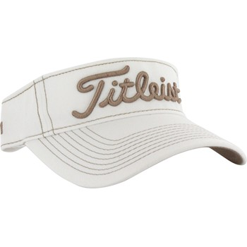 Titleist Contrast Stitch Visor Headwear Visor Apparel