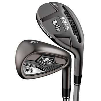 Adams Idea Tech V4 Forged Hybrid Iron Set Preowned Golf Club