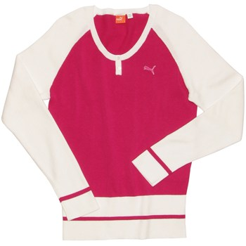 Puma Golf Henley Sweater Crew Apparel