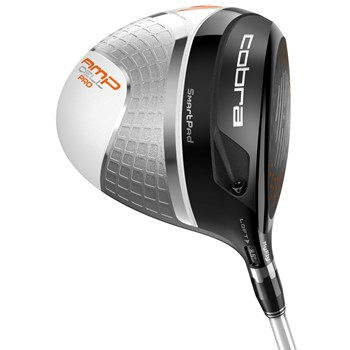 Cobra AMP Cell Pro Silver Driver Preowned Golf Club