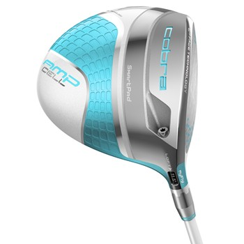 Cobra AMP Cell Capri Blue Driver Golf Club