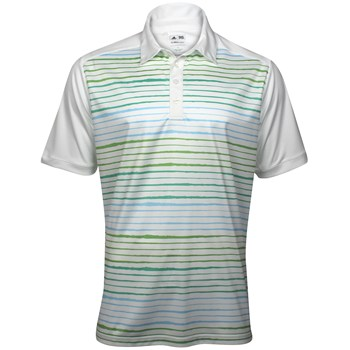 Adidas ClimaCool Wood Grain Printed Shirt Polo Short Sleeve Apparel