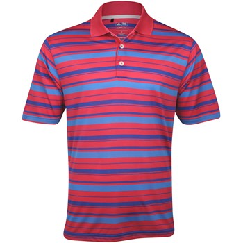 Adidas ClimaLite Bar Stripe Shirt Polo Short Sleeve Apparel