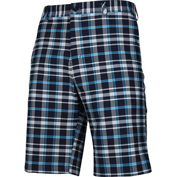 Adidas ClimaLite Fashion Plaid Shorts Flat Front Apparel