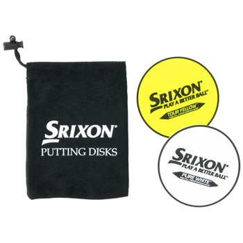 Srixon Putter Disks Putting Aids Golf Bag