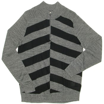 Nike 1/2 Zip Broken Stripe Sweater Outerwear Pullover Apparel