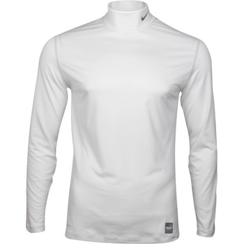 Nike Dri-Fit Core Underlayer Mock Shirt Polo Long Sleeve Apparel