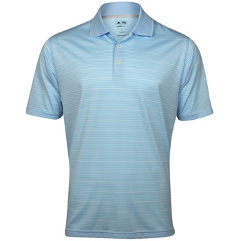 Adidas ClimaLite 2013 Two-Color Stripe Shirt Polo Short Sleeve Apparel