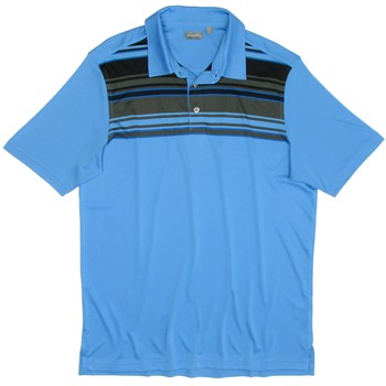 Ashworth EZ-TEC2 Performance Interlock Front Panel Engineer Shirt Polo Short Sleeve Apparel