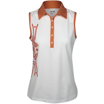 Adidas Climalite Sleeveless Tattoo Print Shirt Polo Short Sleeve Apparel
