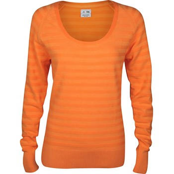 Adidas Scoopneck Textured Sweater Crew Apparel