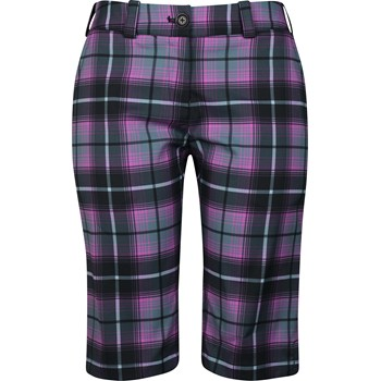 Nike Dri-Fit Modern Rise Plaid Shorts Flat Front Apparel