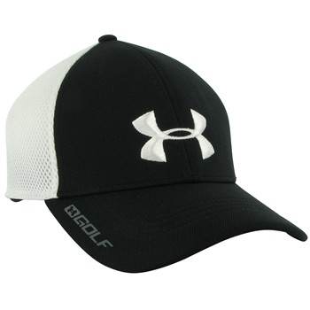 Under Armour UA Golf Spacer Mesh Stretch Fit Headwear Cap Apparel