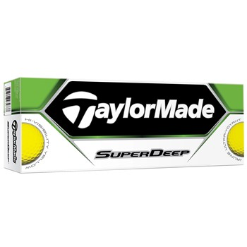 Taylor Made SuperDeep Yellow Golf Ball Balls