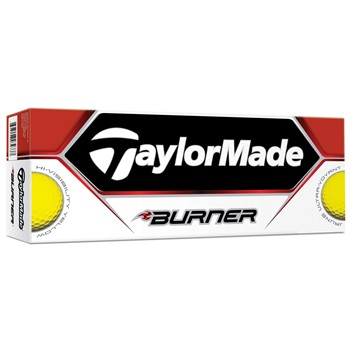 Taylor Made Burner Yellow 2013 Golf Ball Balls