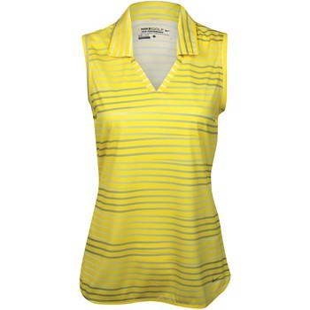 Nike Dri-Fit Novelty Stripe Sleeveless Shirt Polo Short Sleeve Apparel
