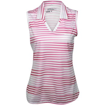 Nike Dri-Fit Novelty Stripe Sleeveless Shirt Polo Short Sleeve Apparel