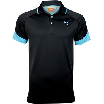Puma Golf Colorblock Jaquard Shirt Polo Short Sleeve Apparel