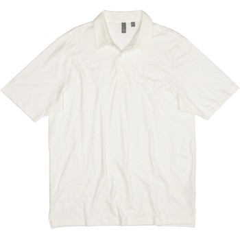 Ashworth Solid Slub Shirt Polo Short Sleeve Apparel