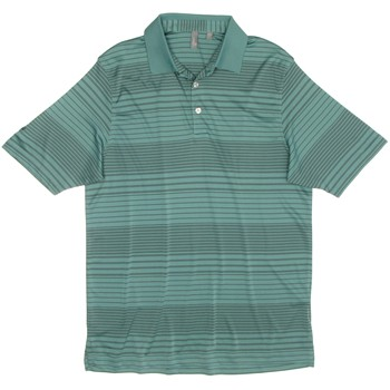 Ashworth EZ-TEC2 Performance Ombre Stripe Shirt Polo Short Sleeve Apparel