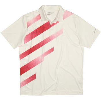 Nike Dri-Fit Fashion Stripe Stretch Shirt Polo Short Sleeve Apparel