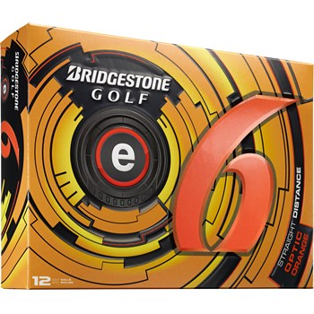 Bridgestone e6 Orange 2013 Golf Ball Balls