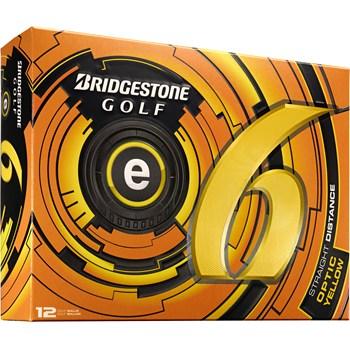 Bridgestone e6 Yellow 2013 Golf Ball Balls