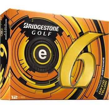 Bridgestone e6 Yellow 2013 Golf Ball Balls