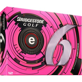 Bridgestone e6 Pink Limited Edition Golf Ball Balls