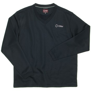The Otter Company Storm Fleece Sweater V-Neck Apparel
