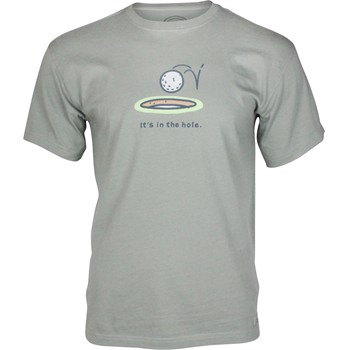 "Life is Good Crusher Tee ""It's In The Hole"" Shirt T-Shirt Apparel"