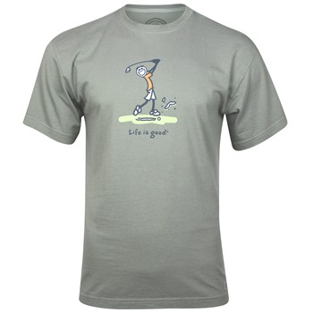 Life is Good Crusher Tee &quot;Big Divot&quot; Shirt T-Shirt Apparel