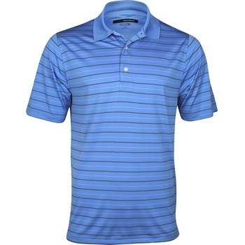Greg Norman Performance Multi Stripe Shirt Polo Short Sleeve Apparel