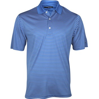 Greg Norman Performance Mini Stripe Shirt Polo Short Sleeve Apparel
