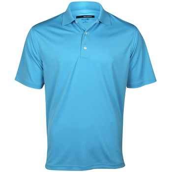 Greg Norman Performance Solid Shirt Polo Short Sleeve Apparel