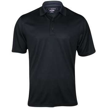 Greg Norman Performance Textured Solid Shirt Polo Short Sleeve Apparel