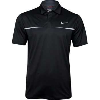 Nike TW Dri-Fit Chest Stripe Shirt Polo Short Sleeve Apparel