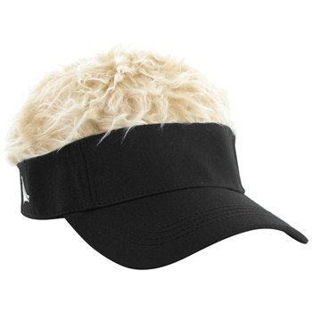 FlairHair Blonde Hair Headwear Visor Apparel